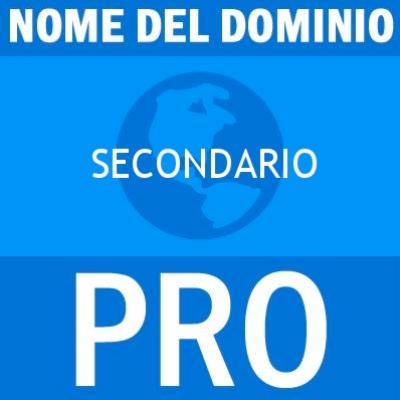 Nome del dominio secondario pro